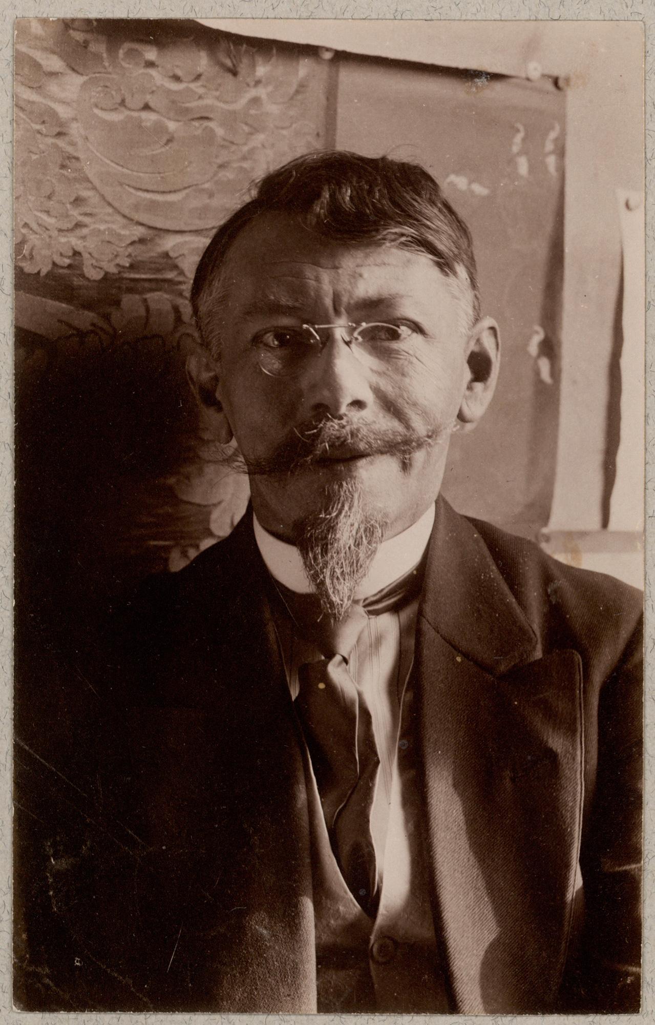 Portrait of Johannes Jørgensen