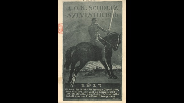 Army Supreme Command Scholtz New Year 1916