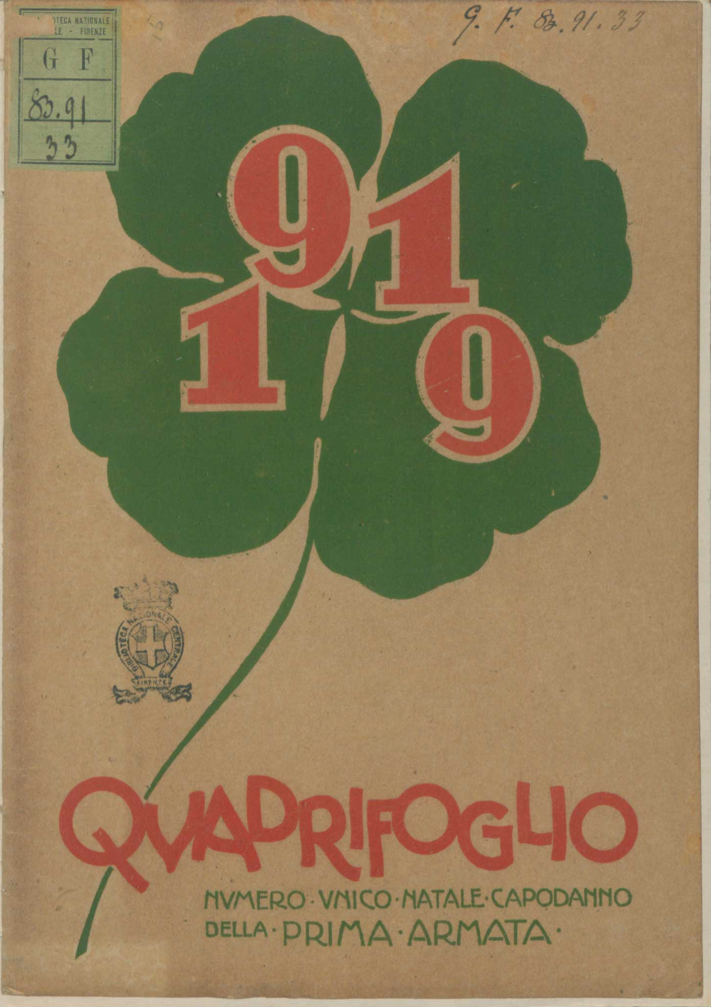 Soldiers' shamrocks