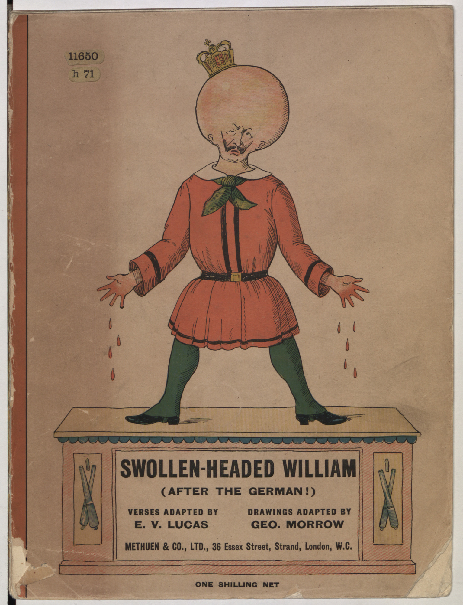 Swollen-headed William (after the German!)