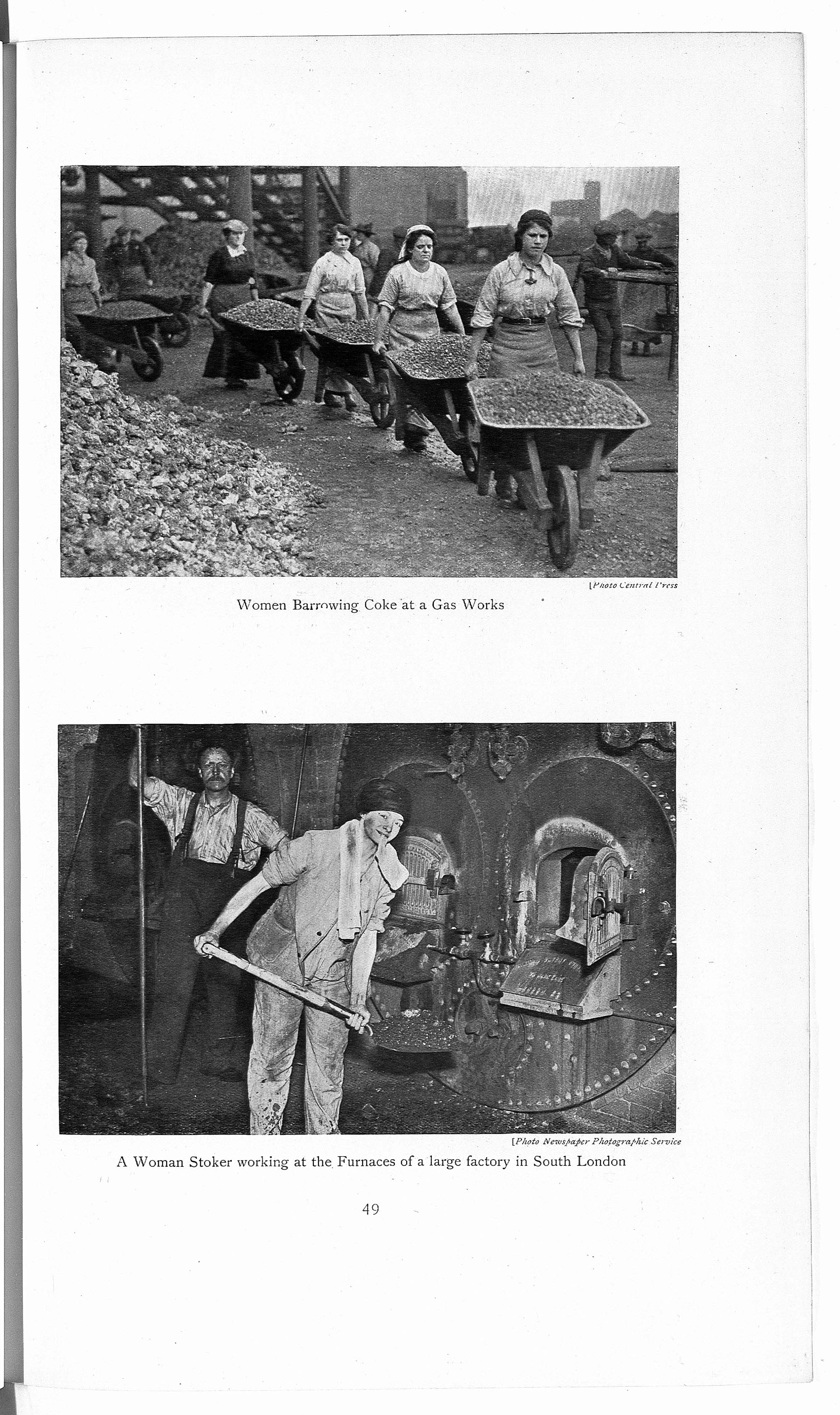 Women's War Work in maintaining the industries & export trade of the United Kingdom