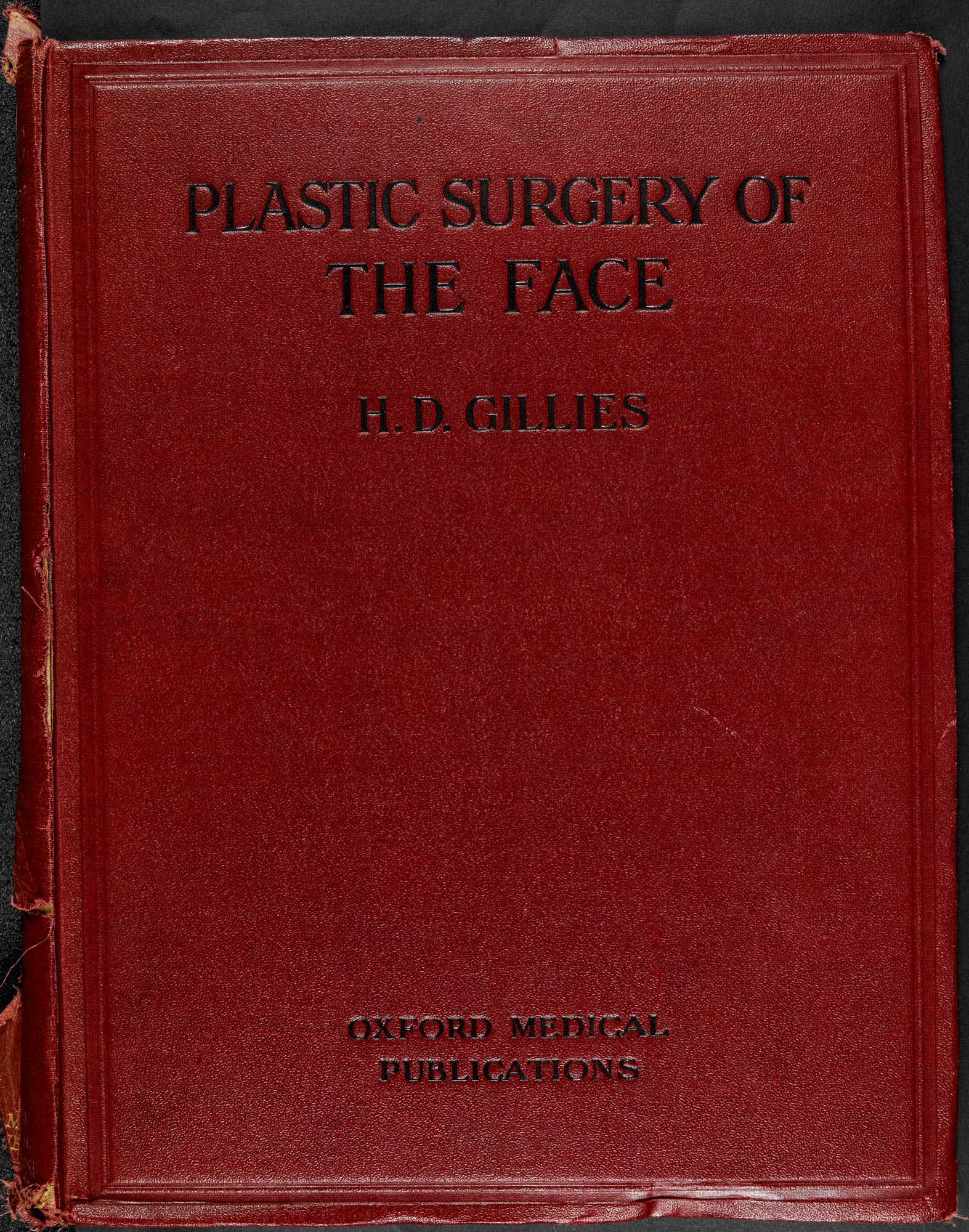 Harold Gillies' Plastic Surgery of the Face 1920