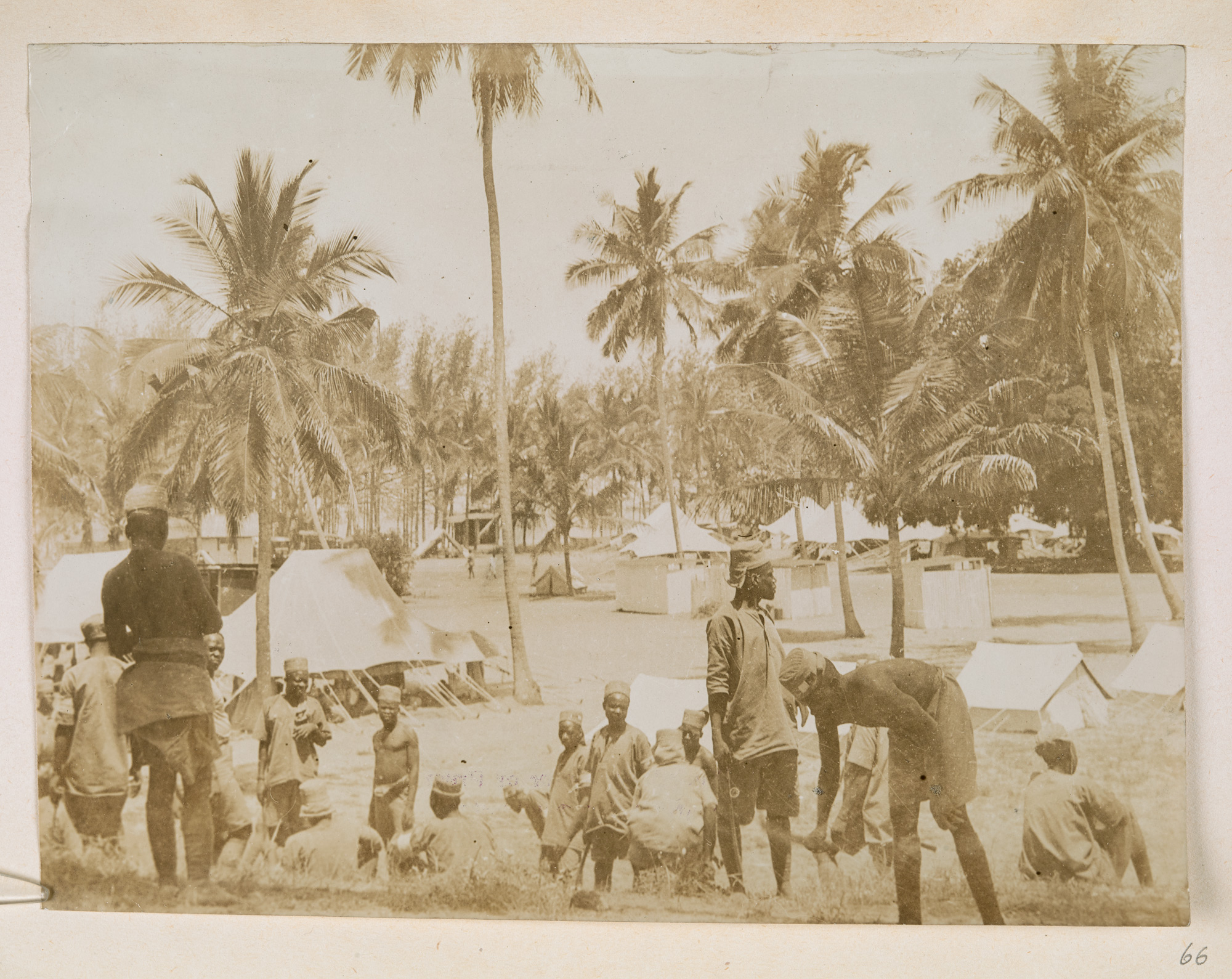 Photograph of East African Campaign