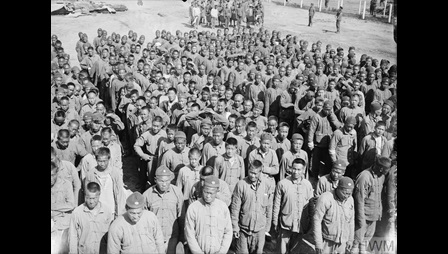 Photograph of the Chinese Labour Corps