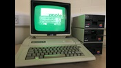 Apple IIe computer