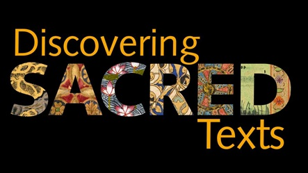 Discovering Sacred Texts logo