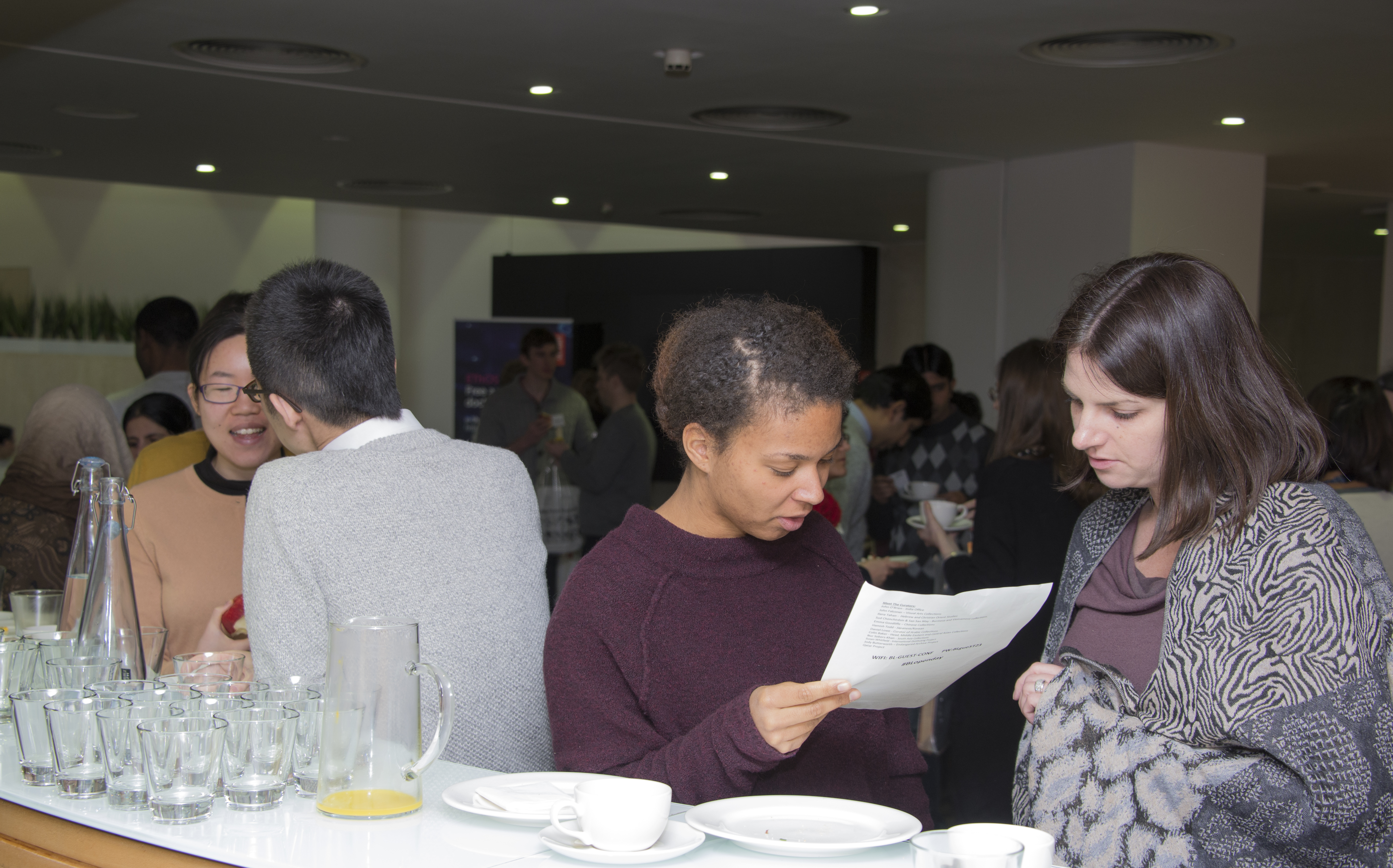 Doctoral Open Day networking