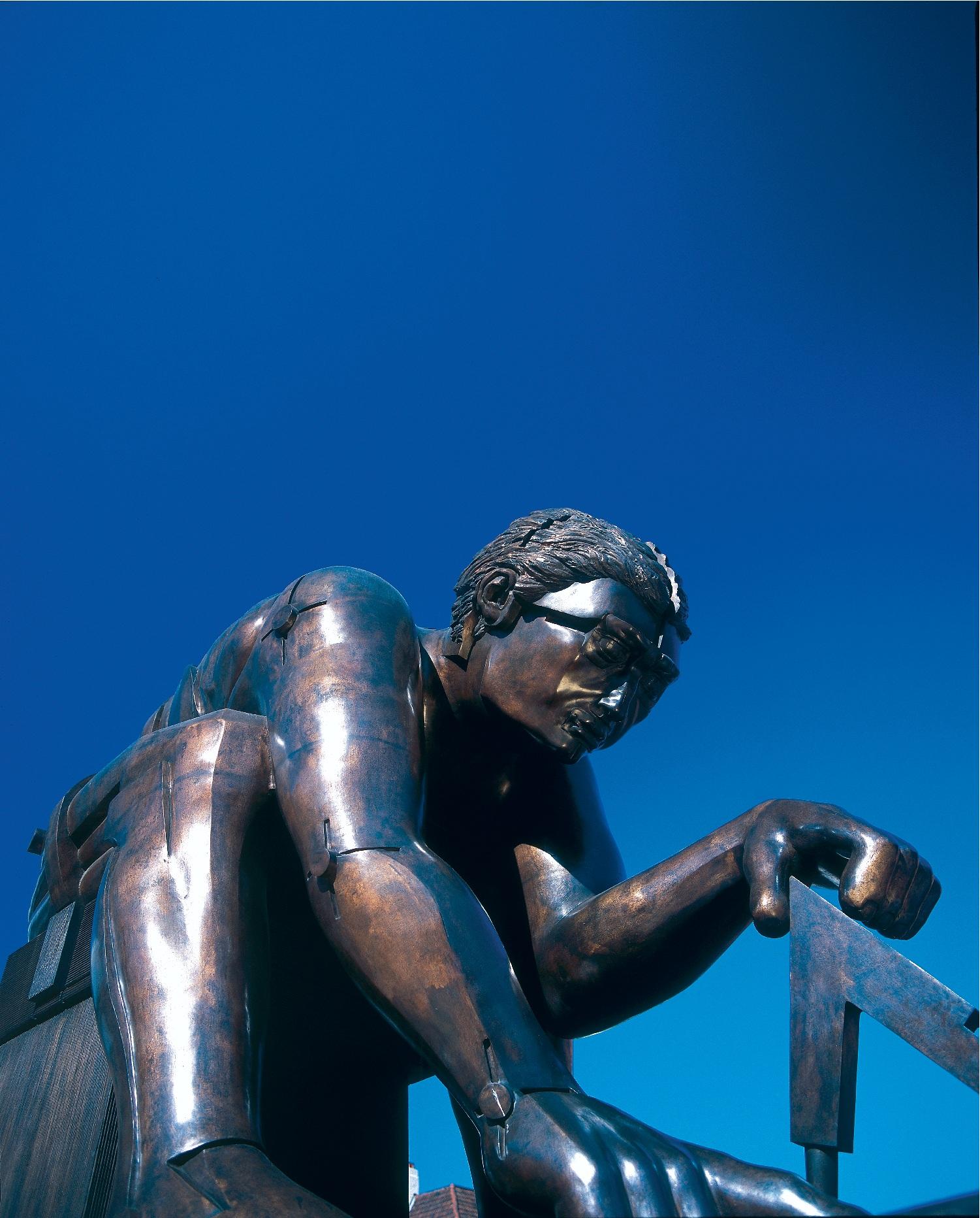 Newton Sculpture British Library