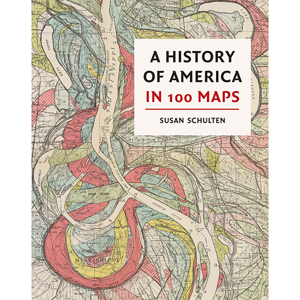 A History Of America in 100 Maps 9780712352178