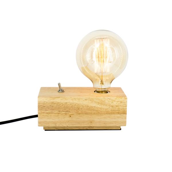 Wooden Block Light