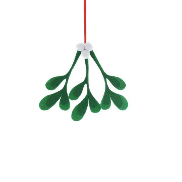 Buy Felt Mistletoe Decoration Online The British Library Shop