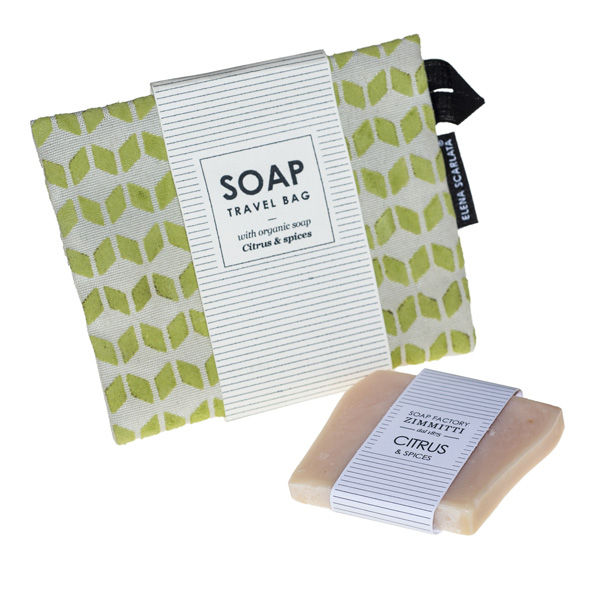 soap pouch green