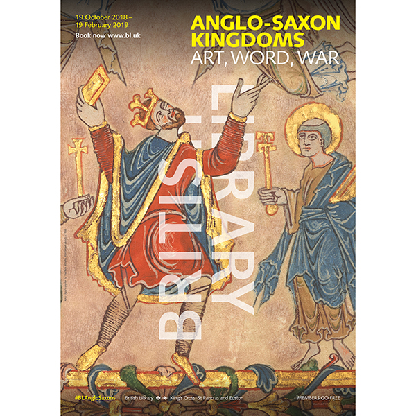 Anglo-Saxon Kingdoms A3 Exhibition Poster