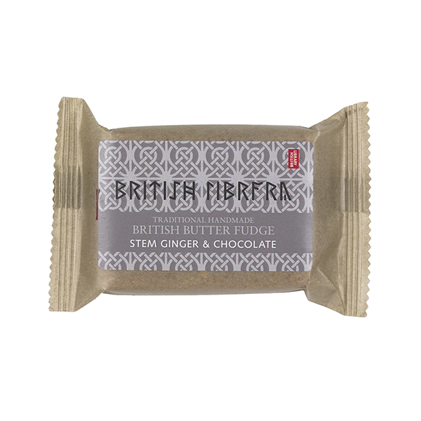 Stem Ginger and Chocolate Fudge