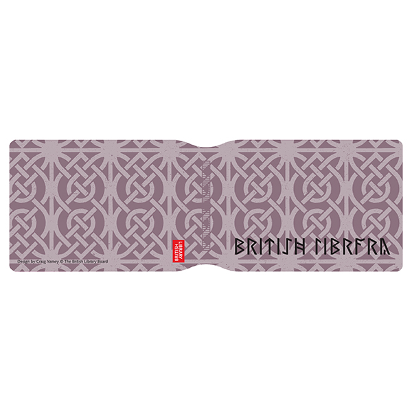 Lilac Pattern with Runes Card Holder