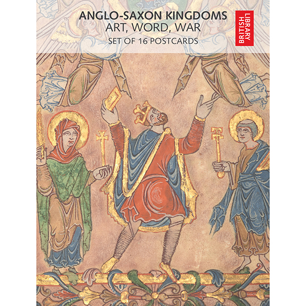 Anglo-Saxon Kingdoms Postcard Pack Front