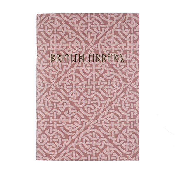 Red Celtic Pattern Notebook