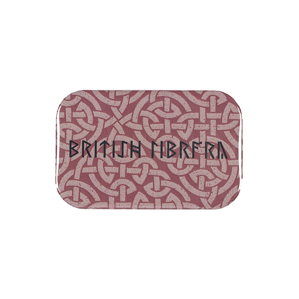 Red Pattern Magnet