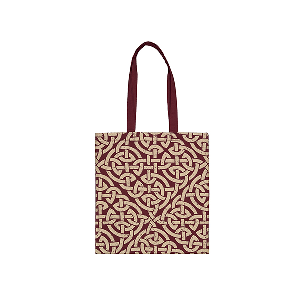 Celtic Pattern Tote Bag Front