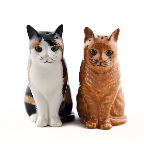 Eleanor and Vincent Salt and Pepper Set