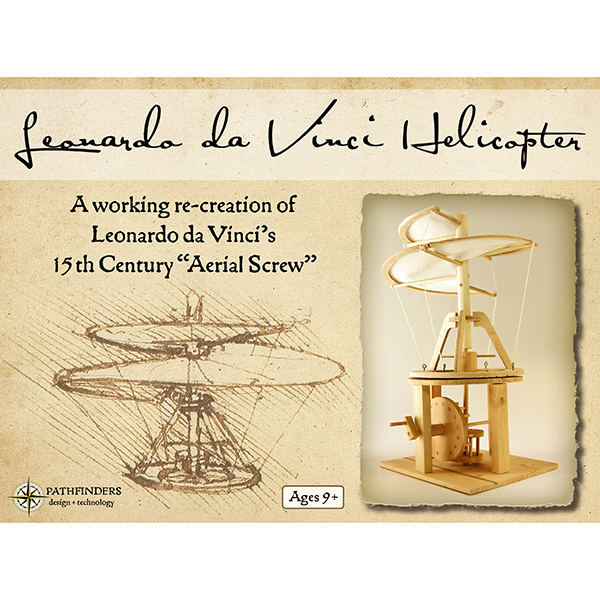Da Vinci Helicopter Kit