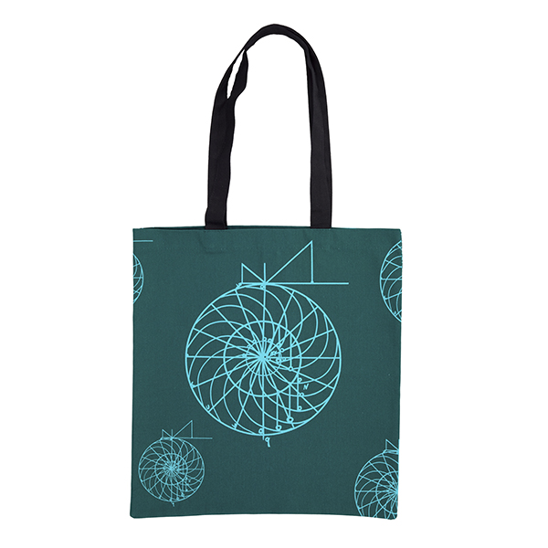 Perpetual Motion Wheel Tote Bag Front