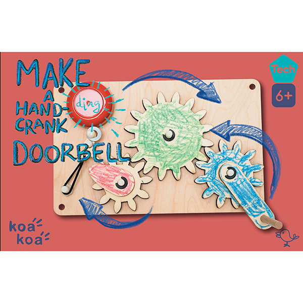 Make a Handcrank Doorbell Kit Box