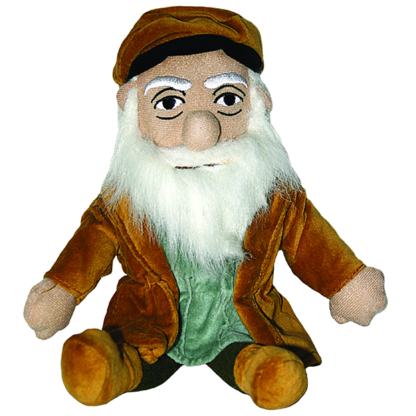 Leonardo Plush Little Thinker