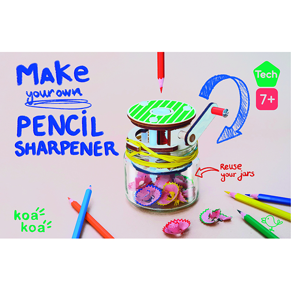 Make a Pencil Sharpener Kit