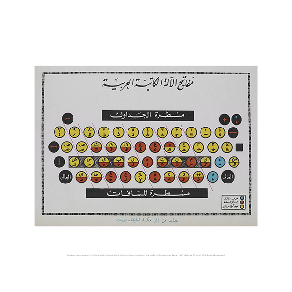 Arabic Typing Manual Mini Print