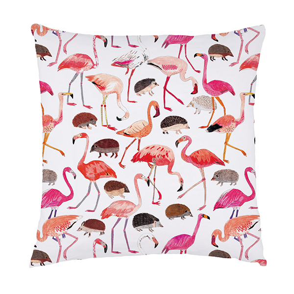 Alice Flamingo Cushion