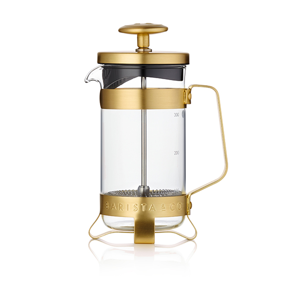 3 Cup Coffee Press Midnight Gold