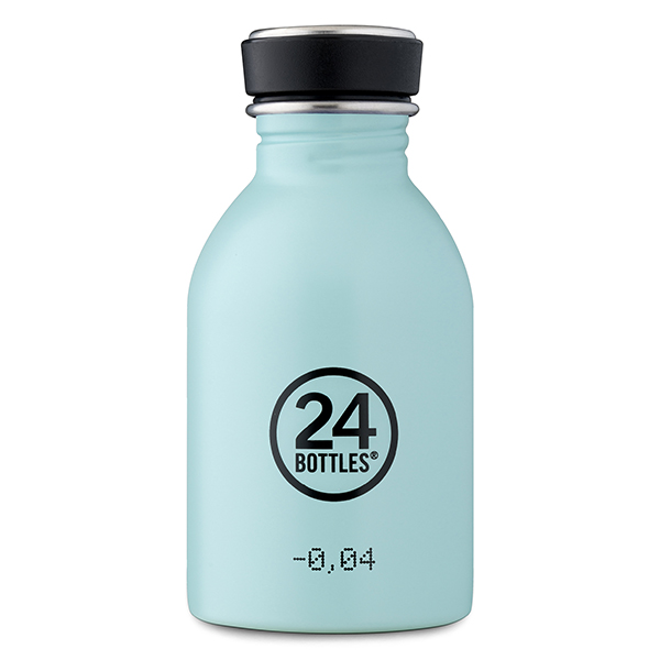 Reusable Water Bottle 250ml: Cloud Blue