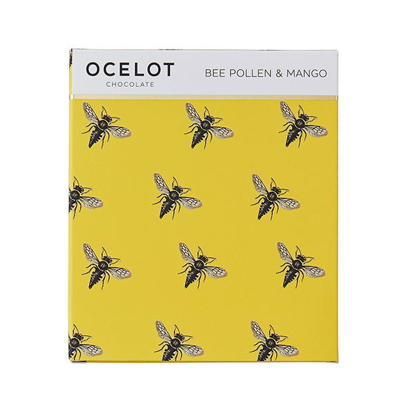 Ocelot Chocolate: Bee Pollen and Mango