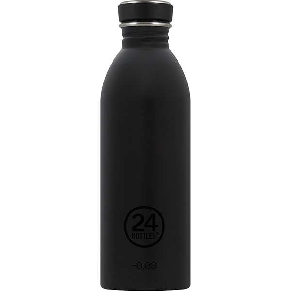 Reusable Water Bottle 500ml: Black
