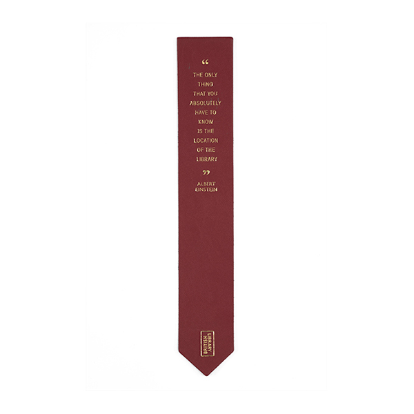Red Quote Bookmark