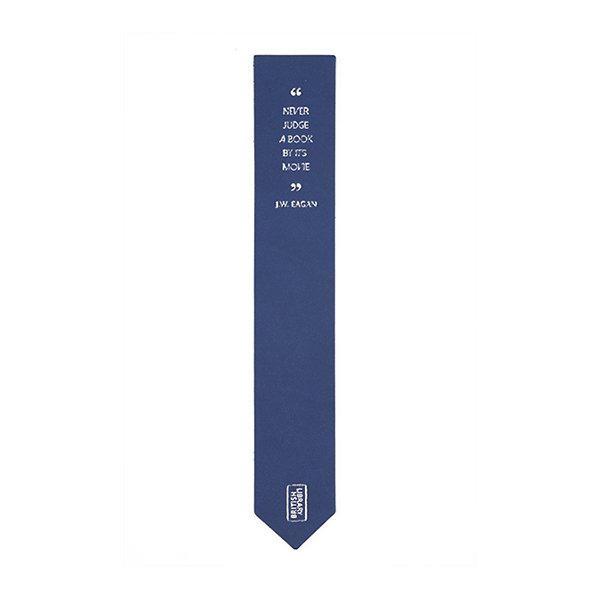 Blue Quote Bookmark