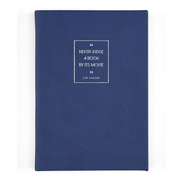 Blue Quote Notebook