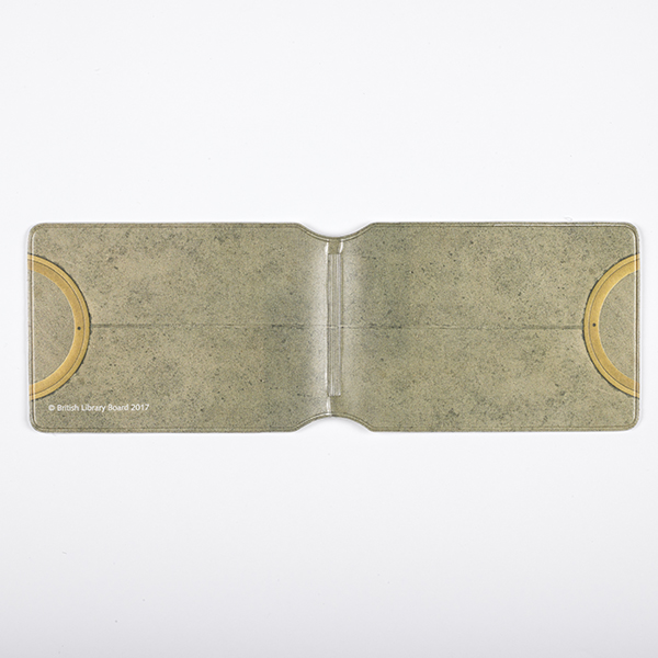 Brass Circle Card Holder