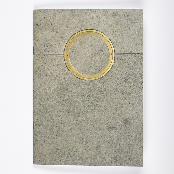 Brass Circle Notebook
