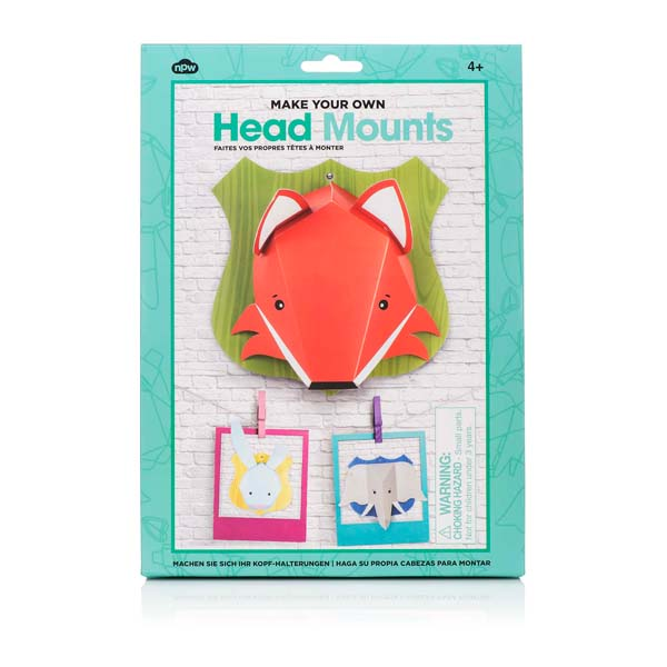 animal head mounts