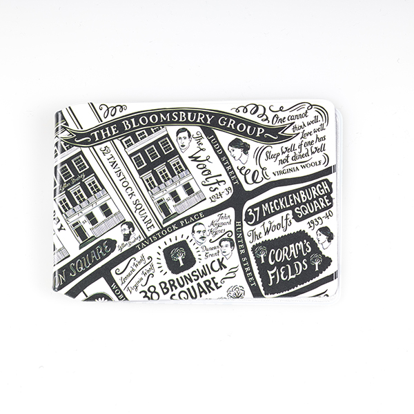 Literary London Card Holder