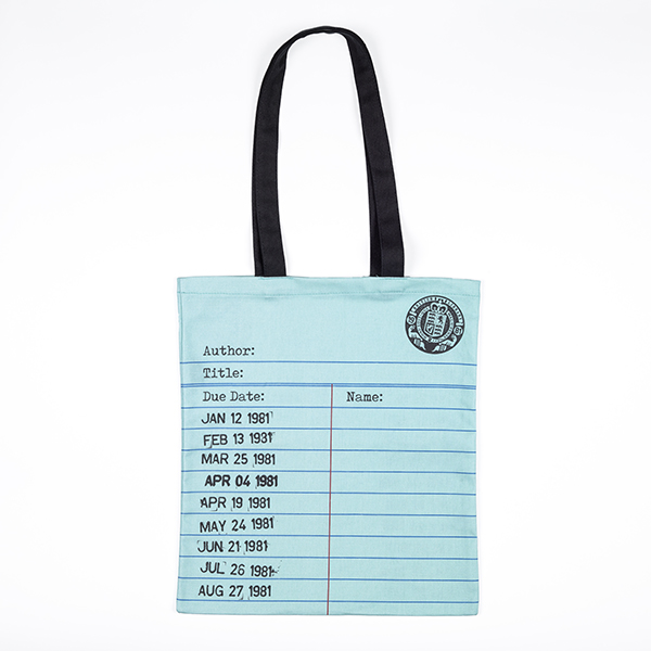 Love Libraries Tote Bag Mint Green