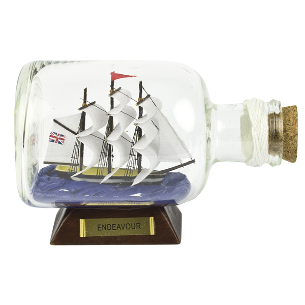 Endeavour Ship-in-Bottle