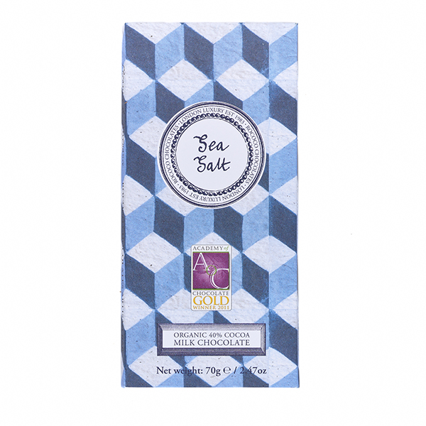 Sea Salt Milk Chocolate Artisan Bar