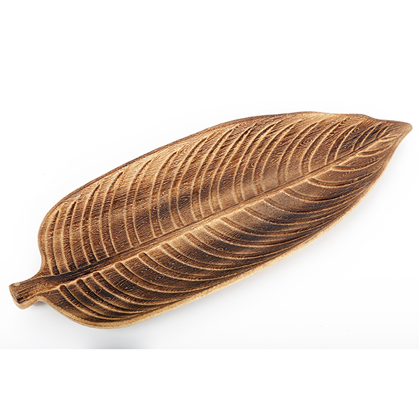 Natural Leaf Decorative Dish