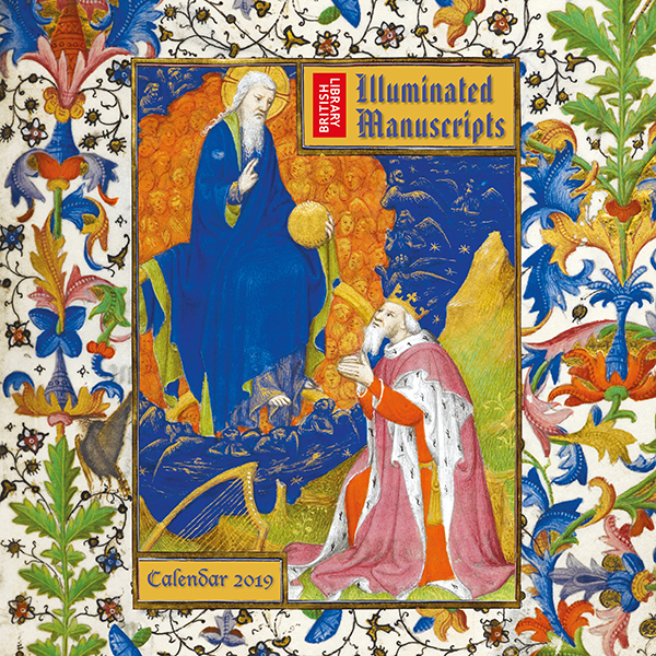 Illuminated Manuscripts Wall Calendar 2019