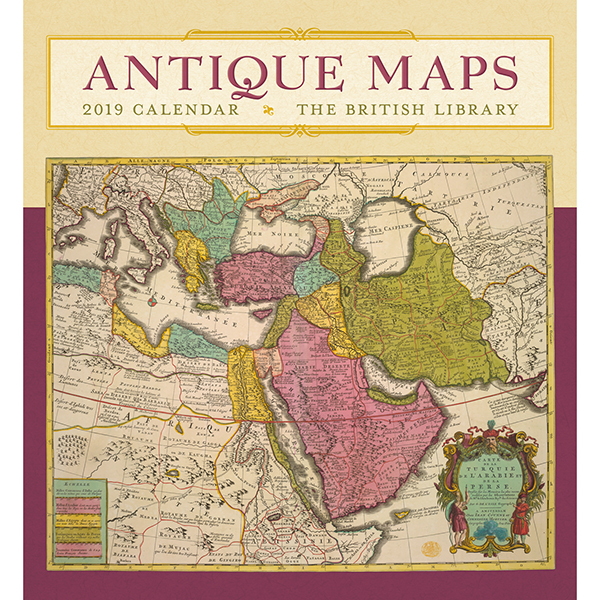 Antique Maps Wall Calendar 2019