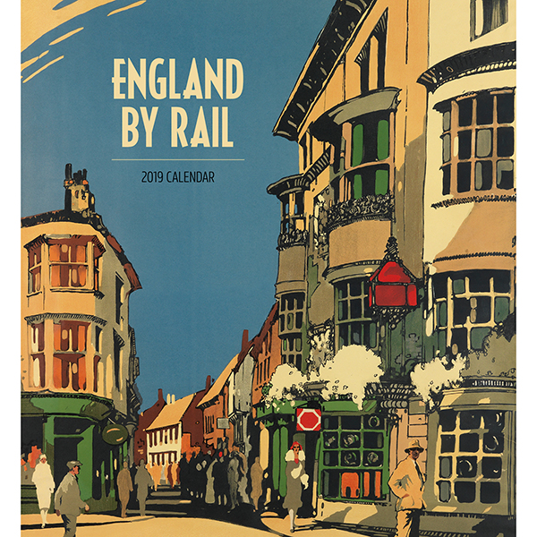 England By Rail Wall Calendar 2019