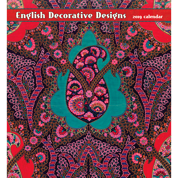 English Decorative Designs 2019 Calendar